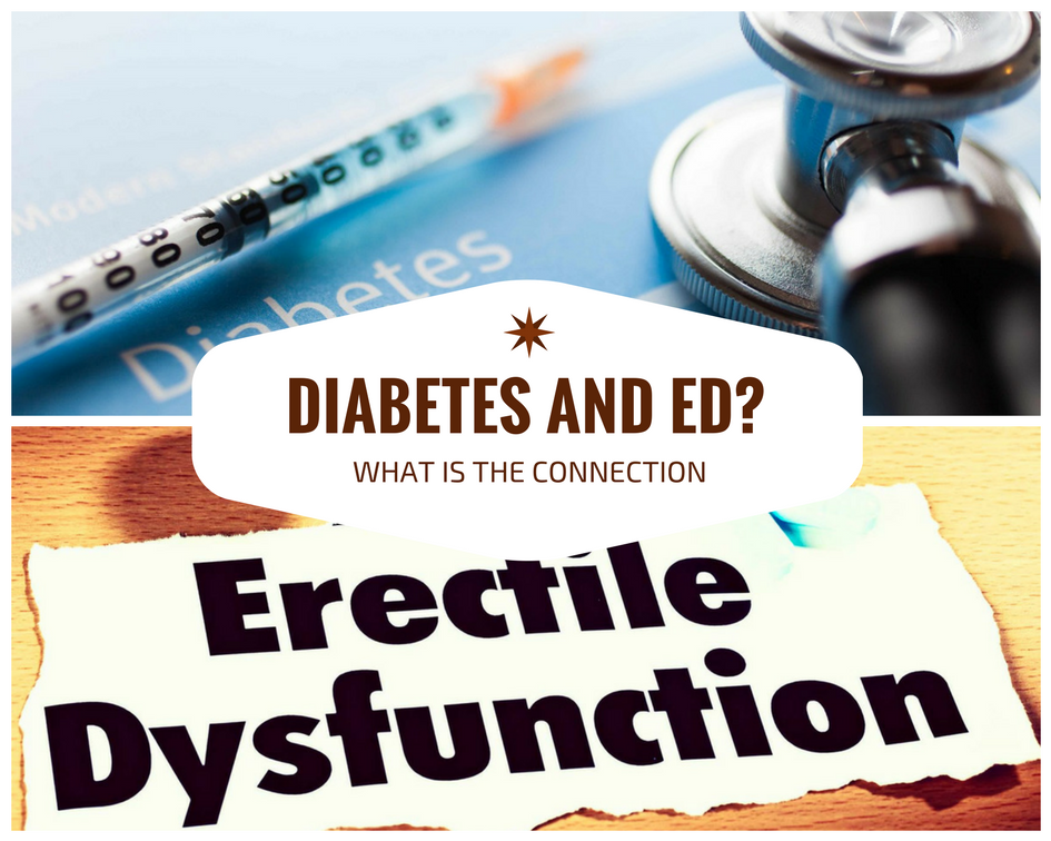 the connection between ED and diabetes